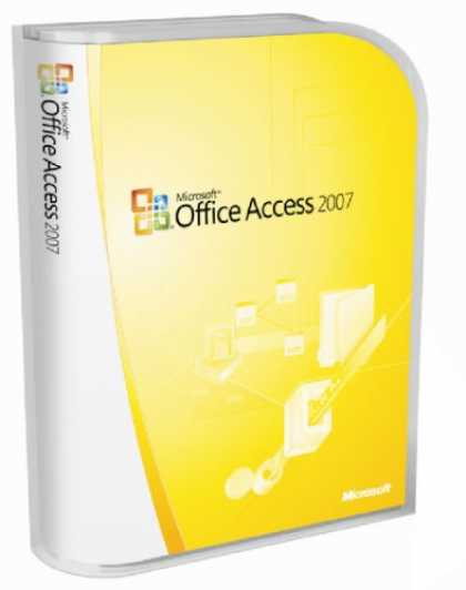 Bestselling Software (2008) - Microsoft Access 2007