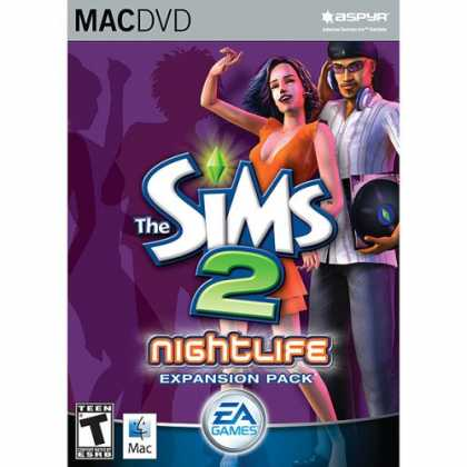 Bestselling Software (2008) - The Sims 2 Nightlife Expansion Pack