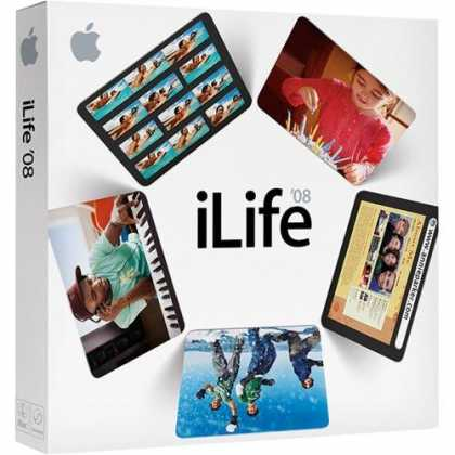Bestselling Software (2008) - Apple iLife '08 Family Pack [OLD VERSION]