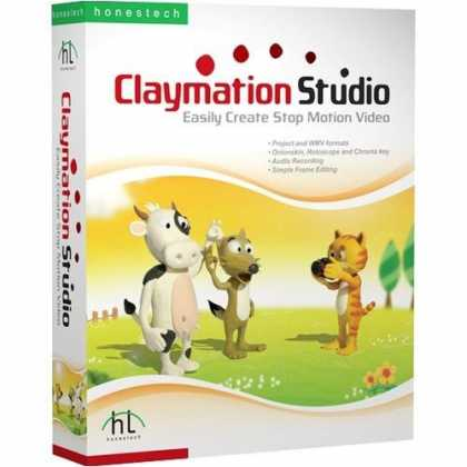Bestselling Software (2008) - Claymation Studio