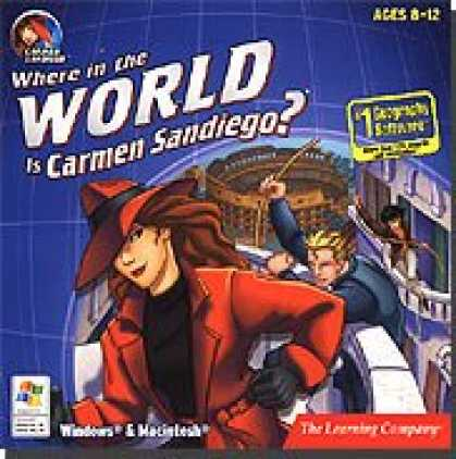 Bestselling Software (2008) - Where In The World Is Carmen Sandiego