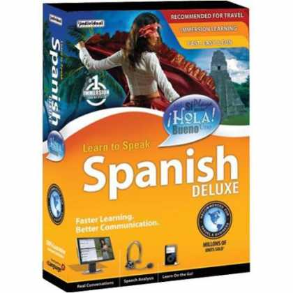 Bestselling Software (2008) - Learn to Speak Spanish Deluxe 10