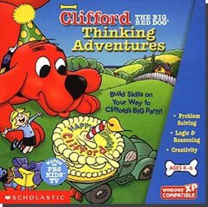 Bestselling Software (2008) - Clifford The Big Red Dog Thinking Adventures