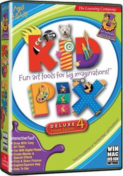 Bestselling Software (2008) - Learning Company Kid Pix Deluxe 4 (Version 2)