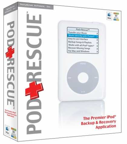 Bestselling Software (2008) - PD+Rescue for iPod Win/Mac