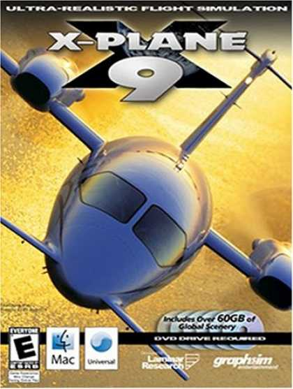 Bestselling Software (2008) - X-Plane 9