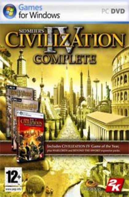 Bestselling Software (2008) - Sid Meier's Civilization IV Complete (Civ 4, Warlords & Beyond The Sword)