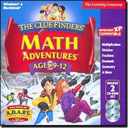 Bestselling Software (2008) - Cluefinder's Math Ages 9-12