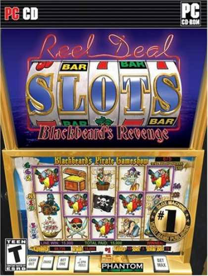 Bestselling Software (2008) - Reel Deal Slots Blackbeard's Revenge
