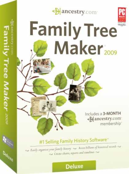 Bestselling Software (2008) - Family Tree Maker 2009 Deluxe