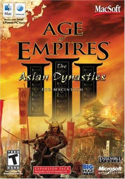 Bestselling Software (2008) - Age Of Empires III: The Asian Dynasties