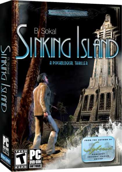 Bestselling Software (2008) - Microids: Sinking Island