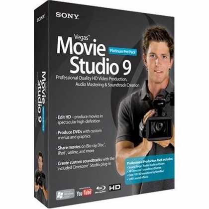 Sony Vegas Pro 9.0c dla Windows + Crack i Keygen