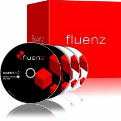 Bestselling Software (2008) - Fluenz Spanish 1+2 Learning Suite Windows, Including DVDs, Audio CDs, Podcasts,