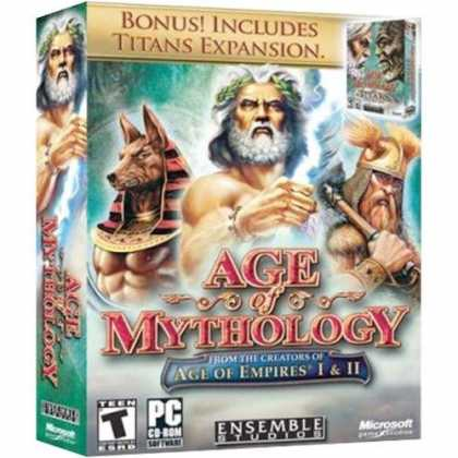 Bestselling Software (2008) - Age of Mythology: Including Titans Expansion
