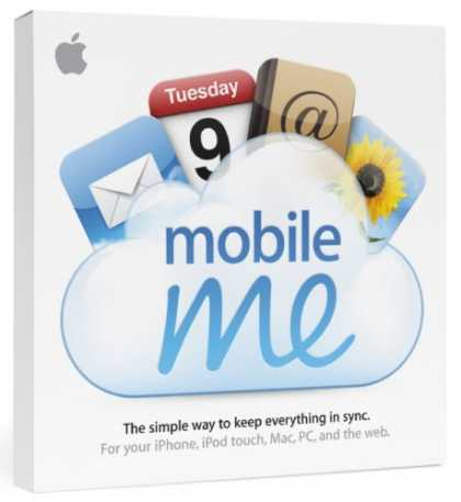 Bestselling Software (2008) - MobileMe Retail