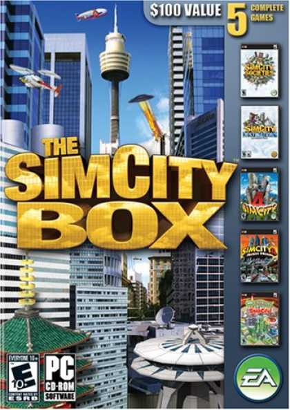 Bestselling Software (2008) - The SimCity Box