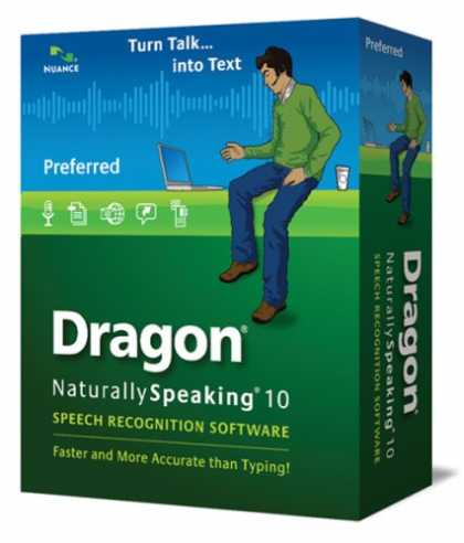 Bestselling Software (2008) - Dragon NaturallySpeaking 10 Preferred