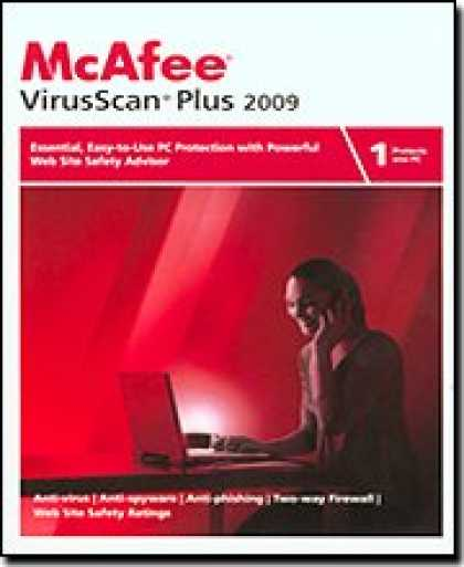 Bestselling Software (2008) - McAfee VirusScan Plus 2009 1-User