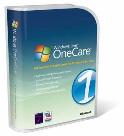 Bestselling Software (2008) - Windows Live OneCare 2.0 (Up to 3 Users)