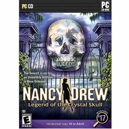 Bestselling Software (2008) - Nancy Drew: The Legend of the Crystal Skull