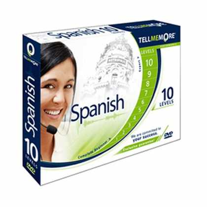Bestselling Software (2008) - TELL ME MORE Spanish Performance (10 levels from Complete Beginner to Expert)