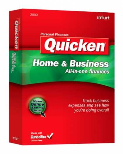 Bestselling Software (2008) - Quicken Home & Business 2009
