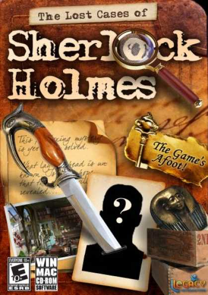 Bestselling Software (2008) - The Lost Cases of Sherlock Holmes