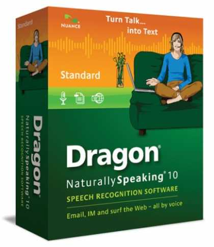 Bestselling Software (2008) - Dragon NaturallySpeaking 10 Standard