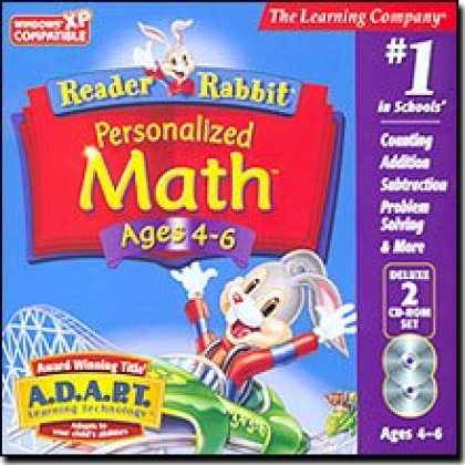 Bestselling Software (2008) - Reader Rabbit Personalized Math 4-6 Deluxe