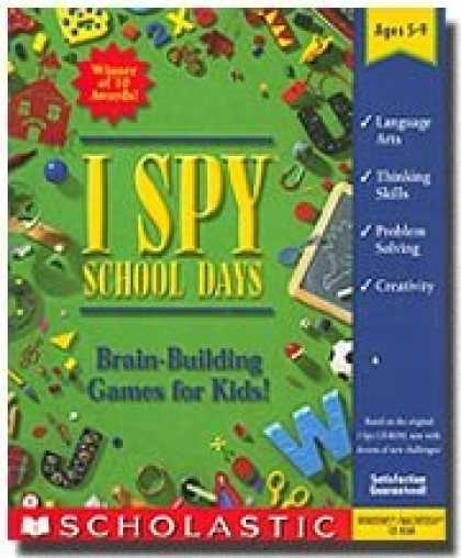 Bestselling Software (2008) - I Spy School Days (Ages 5-9)