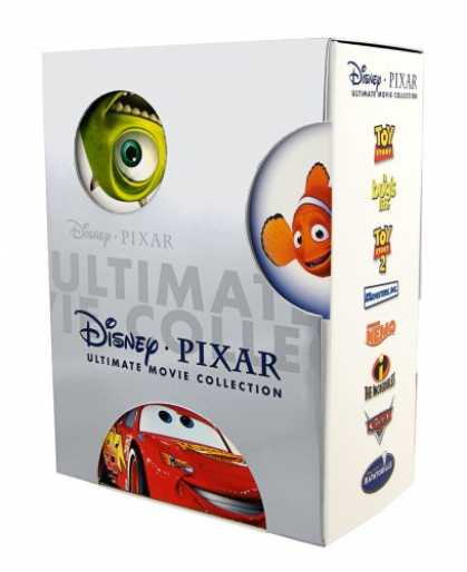 Bestselling Software (2008) - Disney Pixar Ultimate Movie Collection (Toy Story / Toy Story 2 / Finding Nemo /