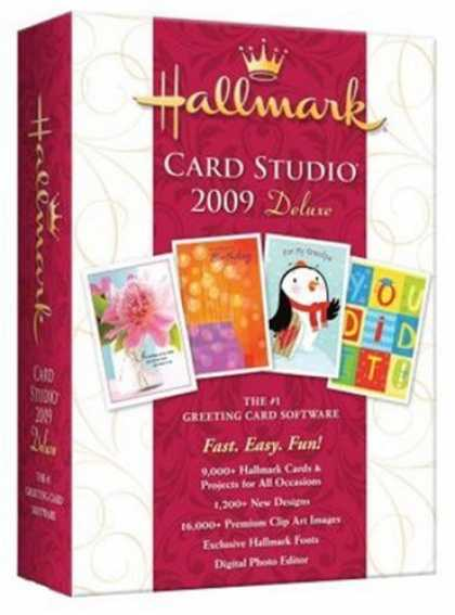 Bestselling Software (2008) - Hallmark Card Studio 2009 Deluxe