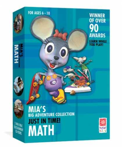Bestselling Software (2008) - Mia's Math Adventure: Just In Time