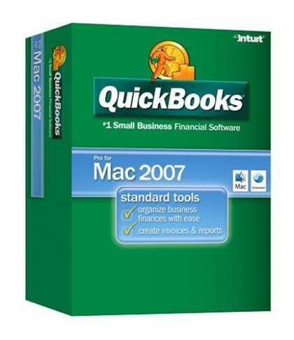 Bestselling Software (2008) - QuickBooks Pro 2007 for Mac (Mac) [OLD VERSION]