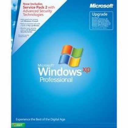Bestselling Software (2008) - Microsoft Windows XP Professional UPGRADE with SP2