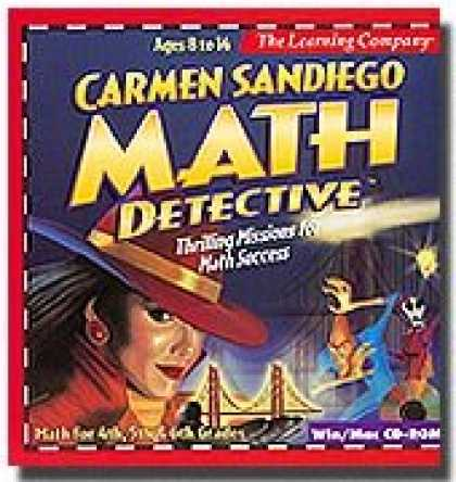 Bestselling Software (2008) - Carmen Sandiego Math Detective