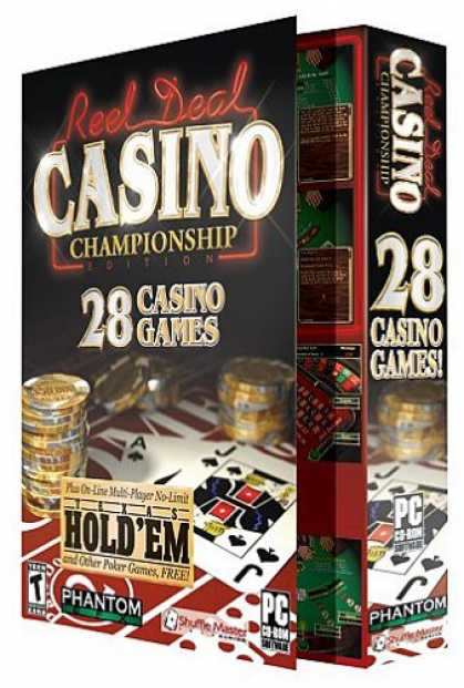 Bestselling Software (2008) - Reel Deal Casino Championship Edition