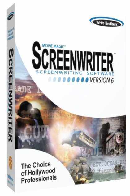Bestselling Software (2008) - Movie Magic Screenwriter Version 6