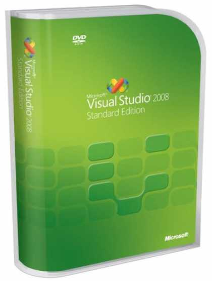 Bestselling Software (2008) - Microsoft Visual Studio 2008 Standard