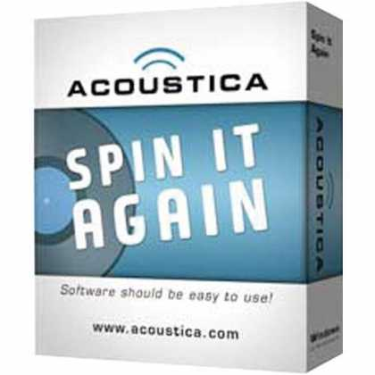 Bestselling Software (2008) - Acoustica Spin It Again 2.1 Music Conversion Recording Software - Windows