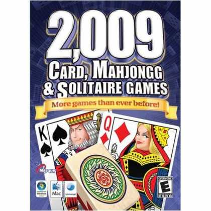 Bestselling Software (2008) - 2,009 Cards, Mahjongg & Solitaire Games