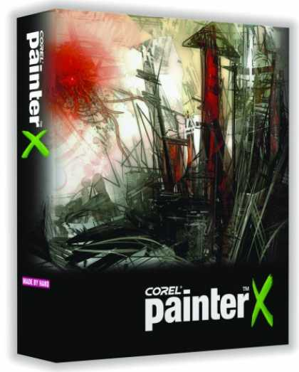 Bestselling Software (2008) - Corel Painter X Win/Mac