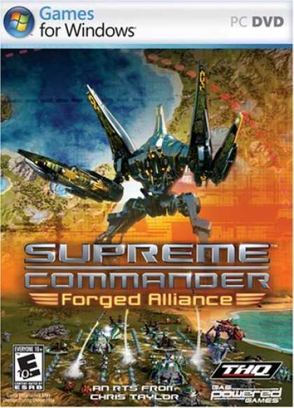 Bestselling Software (2008) - Supreme Commander: Forged Alliance