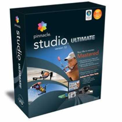 Bestselling Software (2008) - Pinnacle Studio Ultimate Version 12