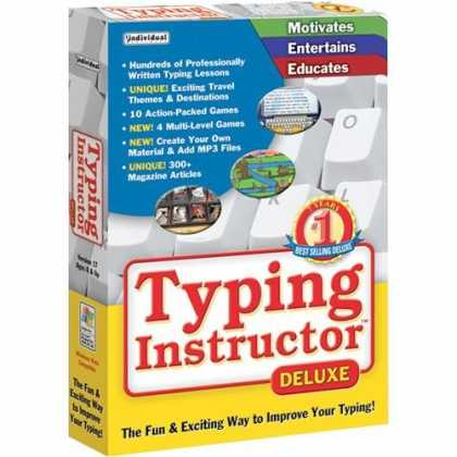 Bestselling Software (2008) - Typing Instructor Deluxe 17
