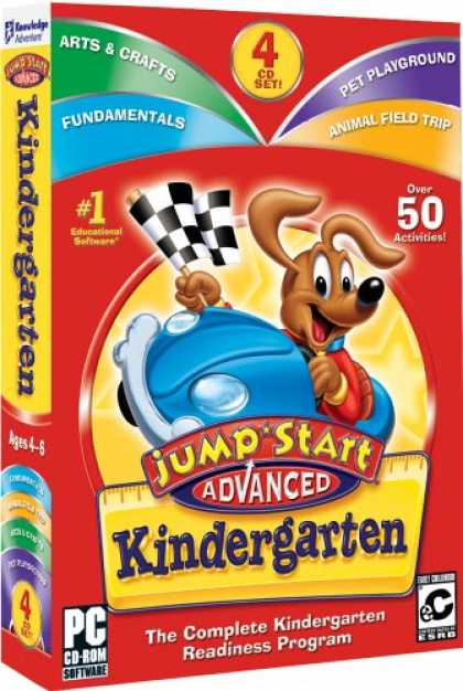 Bestselling Software (2008) - Jumpstart Advanced Kindergarten V2.0