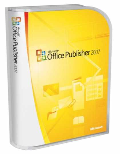 Bestselling Software (2008) - Microsoft Publisher 2007 Version Upgrade