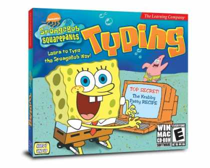 Bestselling Software (2008) - SpongeBob Squarepants Typing Win/Mac