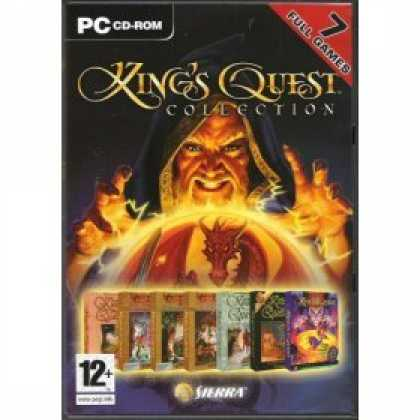 Bestselling Software (2008) - Kings Quest Collection 7 Game Pack